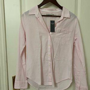 Abercrombie Pink MEDIUM dress shirt
